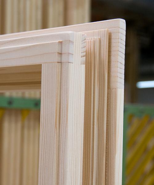 Eckwinkelklebung Holz