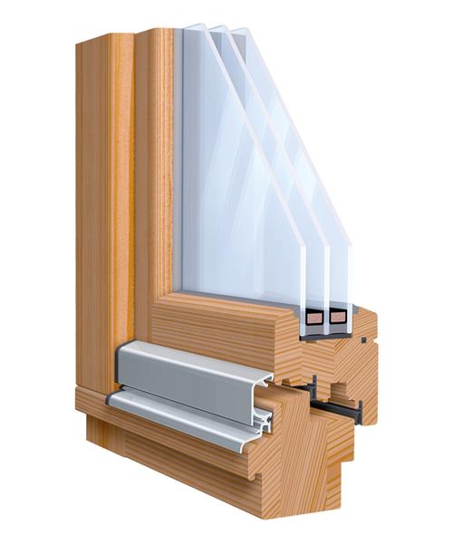 Scheiben in Fensterflügel aus Holz kleben