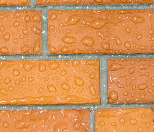 Hydrophobierte Fassade mit OTTO Siloxan 290L