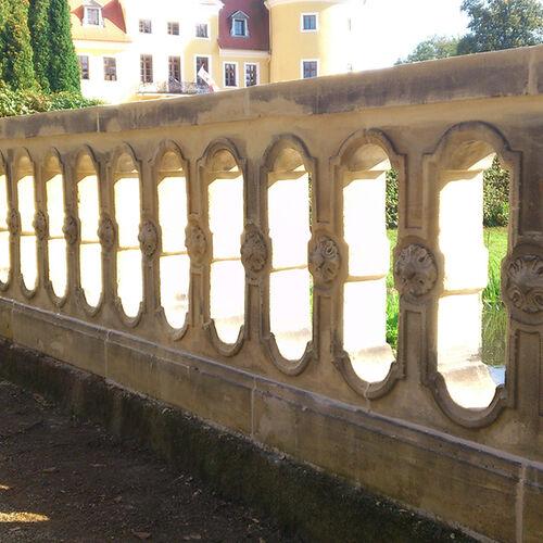 Meisterwerk Schloss Milkel Sandsteinbruecke 2