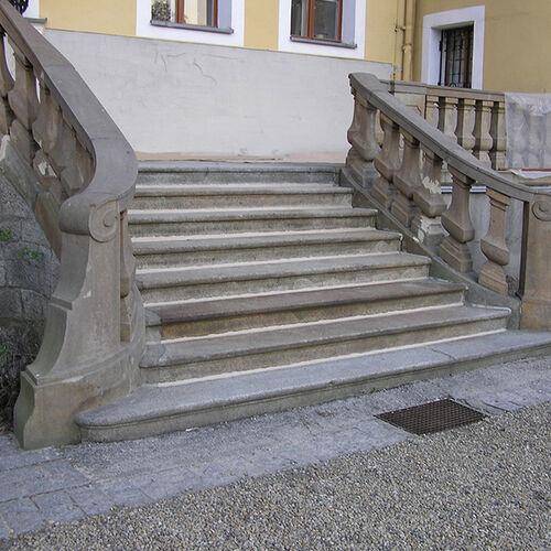 Meisterwerk Schloss Milkel Treppe