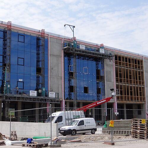Montage Hgv Fassade Und Pfosten Riegel Unterkonstruktion